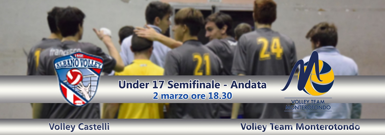 Under 17. Contro Volley Castelli per sognare la finale