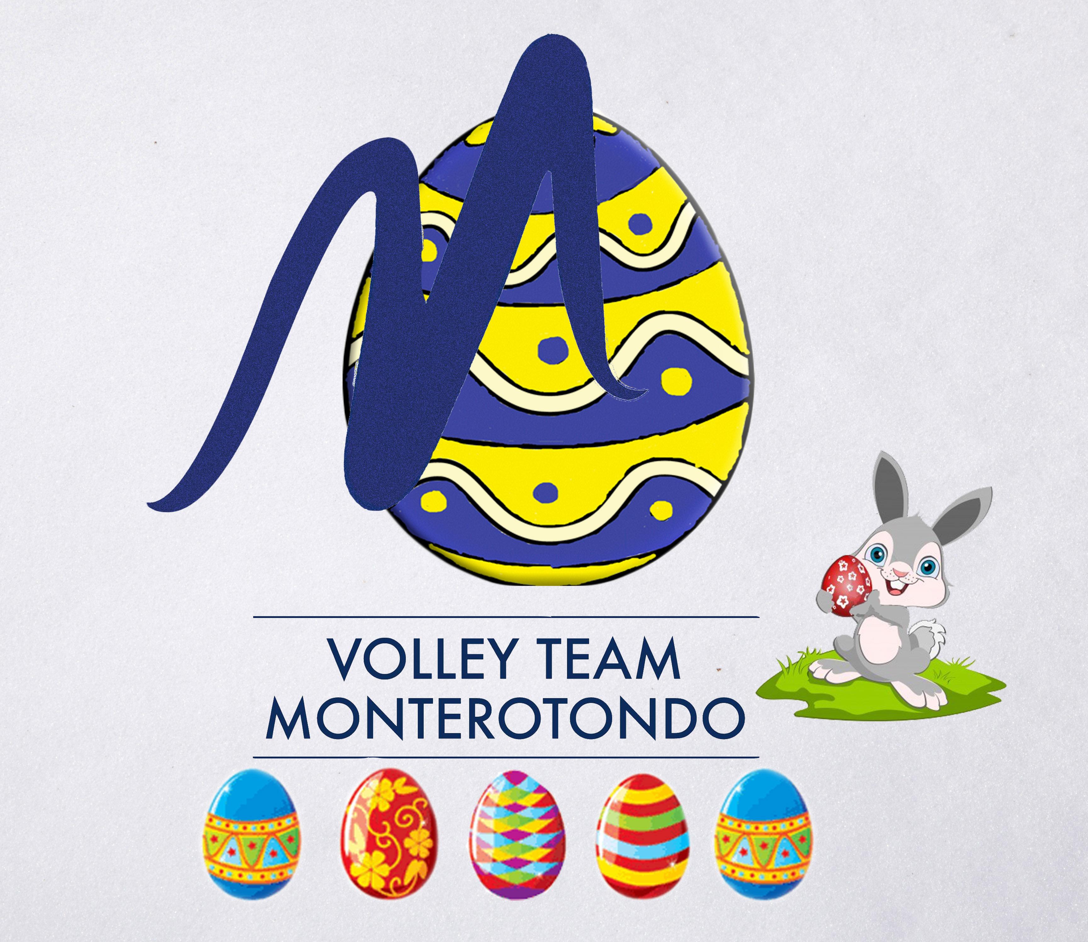 Tanti auguri di buona Pasqua dalla Volley Team Monterotondo