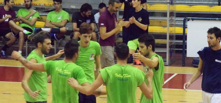 Serie C. Volley Team ok nell'amichevole con Villalba (FOTO)