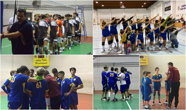 collage volley team