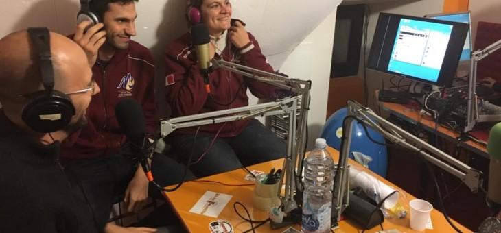 Laura Storno e Matteo Martinoia a Radio Manzo (AUDIO)