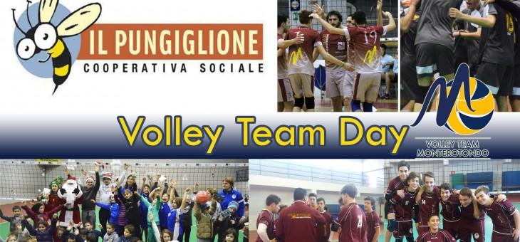 """Uno sguardo sul presente e uno al futuro: giovedì 22/12 """"Volley Team Day"""""""