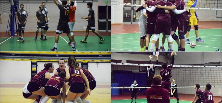 U18M ai quarti di finale. Le due U16 (maschile e femminile) continuano a vincere