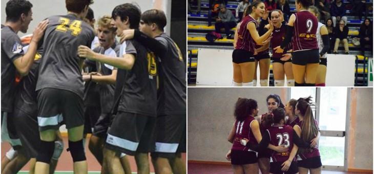 L'U18 di Pozza fa sua la semifinale d'andata, 1 vittoria e 1 sconfitta per l'U16F