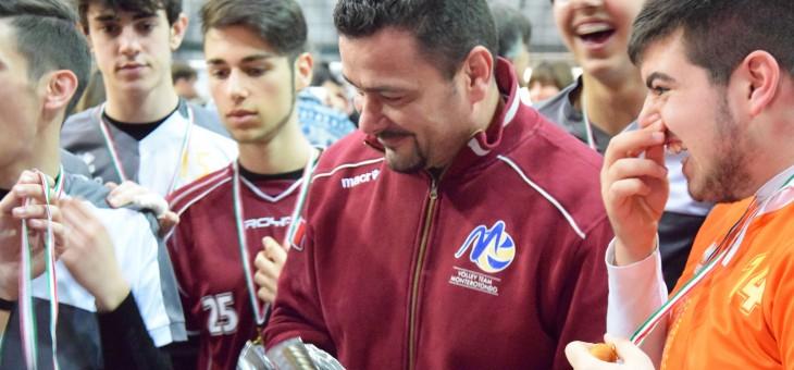 U18M #CAMPIONI. L'intervista a mister Luca Pozza (VIDEO)