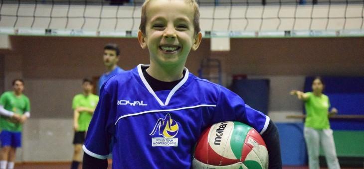 Il piccolo Leonardo è il 200° iscritto della Volley Team (FOTO)