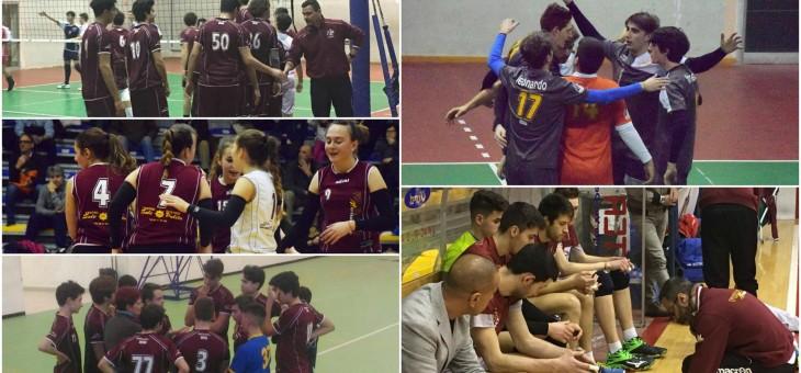 Vincono tutte le nostre squadre. U18 in finale, l'U14M riparte col sorriso