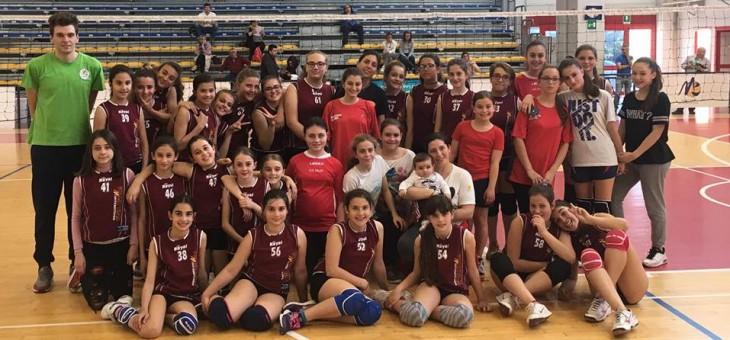 """Torneo Scuola Pallavolo. Giordano: """"Grazie ragazze, ci siamo divertite"""""""