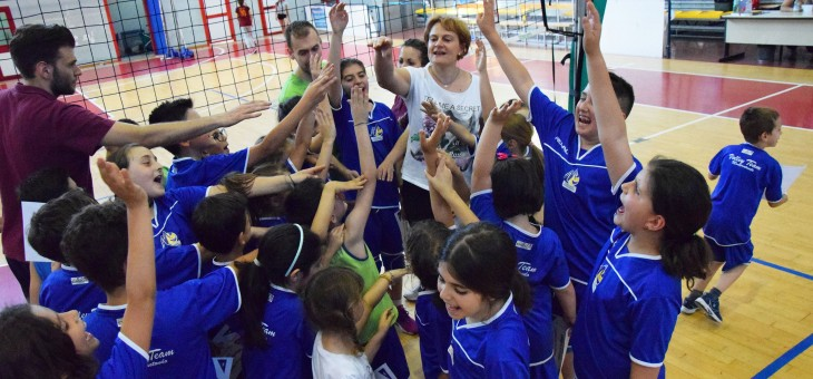 La festa del Minivolley (VIDEO e FOTO)