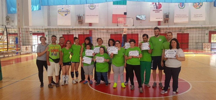 Integriamoci… con il volley! La rete è la nostra unica barriera