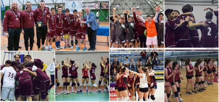 Volley Team Monterotondo 7° al GP Giovani 2016/17