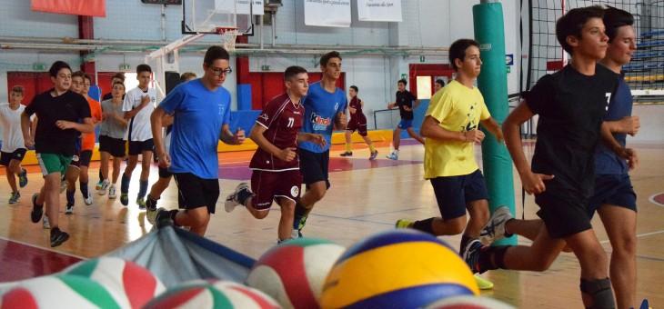 Il settore giovanile della Volley Team torna in palestra (FOTO)