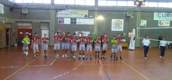 Serie C. Volley Team grandiosa: 0-3 a Sporting Faiti e 1° posto in classifica