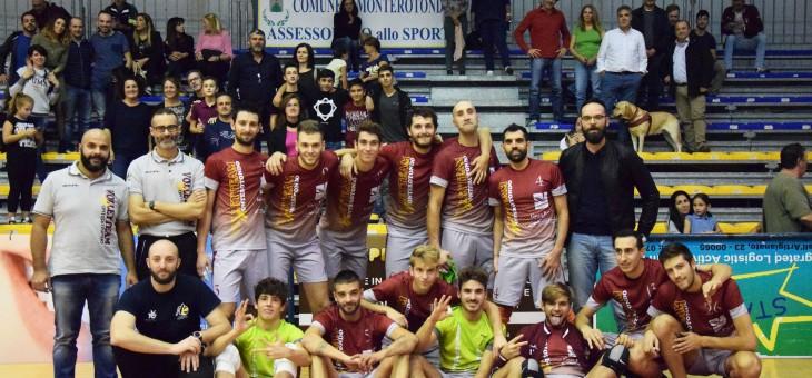 Serie C, la forza di un grande pubblico: Monterotondo batte 3-0 Tuscania