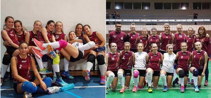 Giovanili. Che partenza al femminile: U16 e U18 vincono da 3 punti