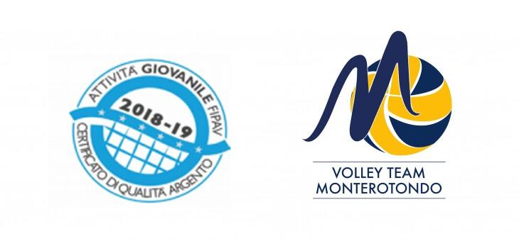 Volley Team Monterotondo: Certificato di Qualità Fipav per il Settore Giovanile