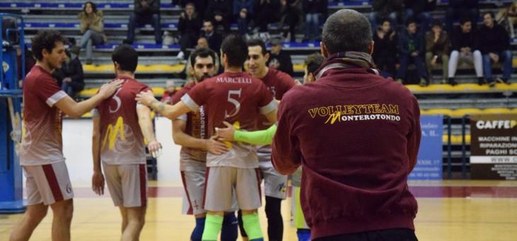 Volley Team da sogno davanti a 300 persone: 3-2 a SG Roma
