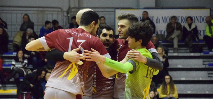 Serie C. L'urlo di Monterotondo: la capolista a +4 su SG Volley Roma