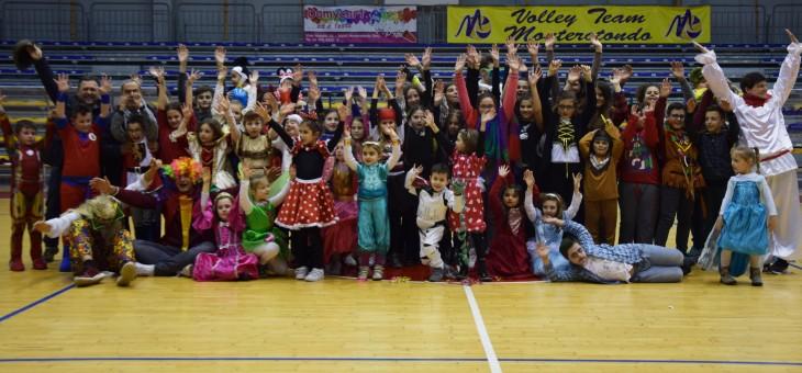 Maschere, dolci e divertimento: il Carnevale della Volley Team (FOTO)