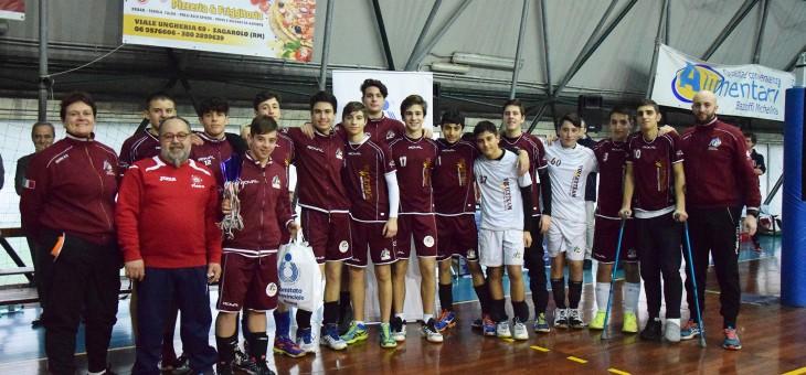 FINALE U16. Super Monterotondo, Green Volley fa festa al tie break