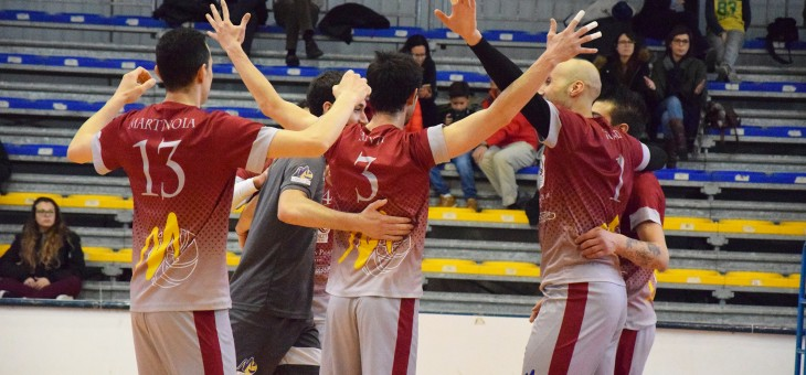 Serie C. Monte torna super: 3-0 alla Top Volley Latina
