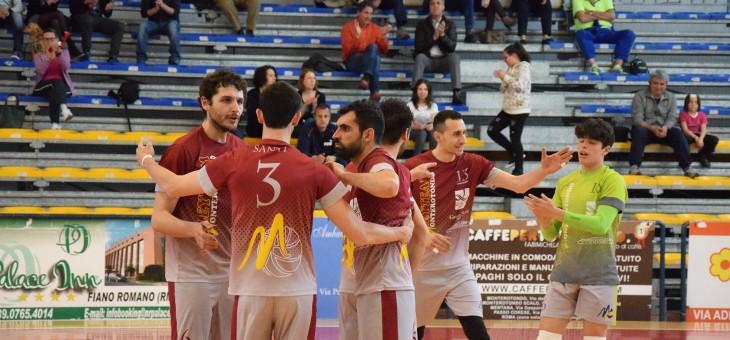 Monterotondo, carattere e testa: 3-0 a Volley Fiumicino