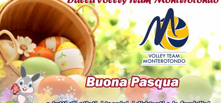 Buona Pasqua dalla Volley Team Monterotondo