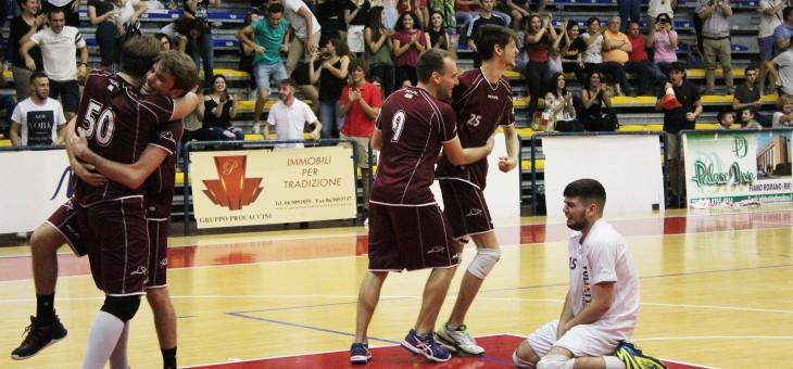 500 cuori spingono i ragazzi di Monterotondo nel sogno: è Prima Divisione