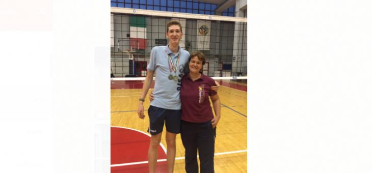 Un campione d'Italia a Monterotondo. Andrea Orlando la grande vittoria della Volley Team