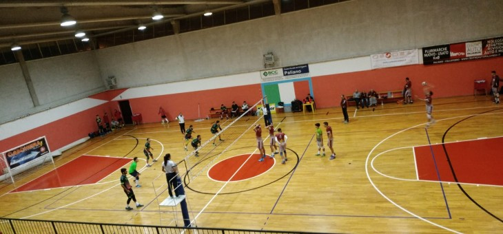 Serie C. Prima sconfitta a Palliano: la Volley Team cade al tie break