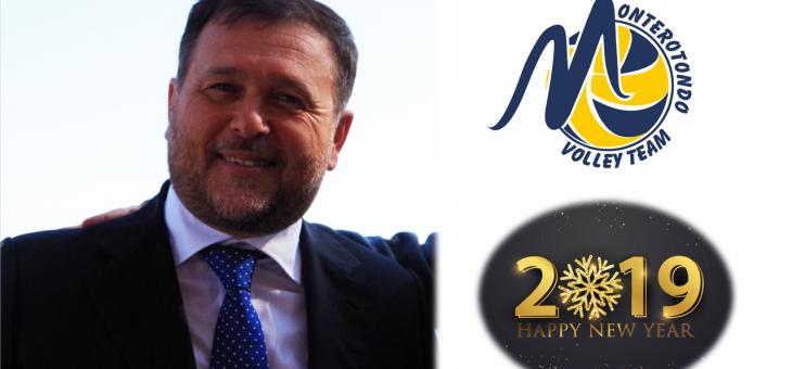 """Il Presidente Giancarlo Bianchini: """"Vi auguro un 2019 a colori"""""""