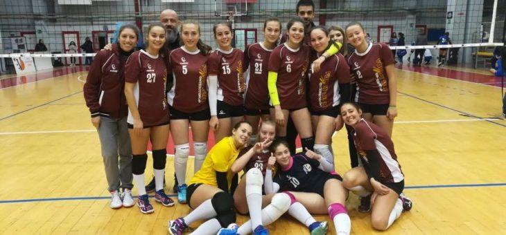 U18F. Nei sedicesimi di finale sfida al Volley School Genzano