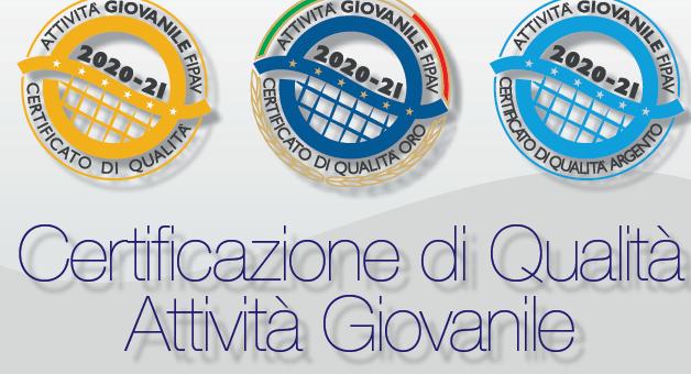 """La Volley Team Monterotondo riceve il certificato di qualità """"argento"""" della FIPAV"""