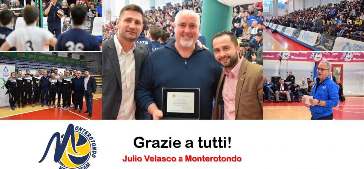 Velasco a Monterotondo. Il messaggio del direttore Mauro Ebano