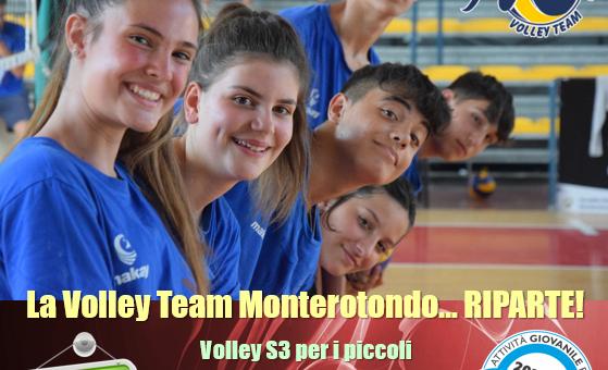 Volley S3 e giovanili: aperte le iscrizioni per la stagione 2021-22